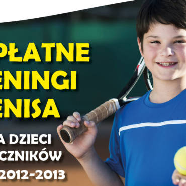 Bezpłatne treningi tenisowe 2019