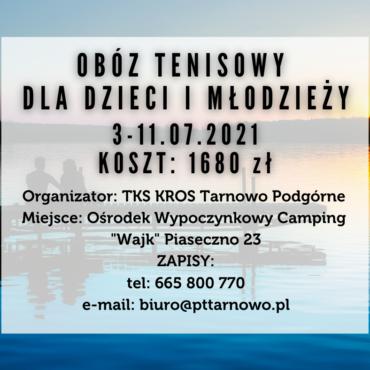 Obóz letni – Piaseczno
